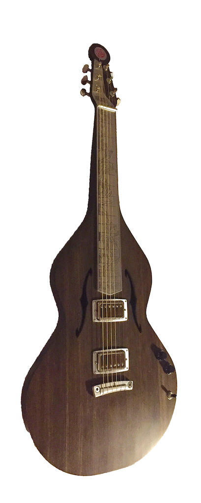 Carbon Fiber Tattoo Lap Steel | San Lorenzo Guitars (FR)